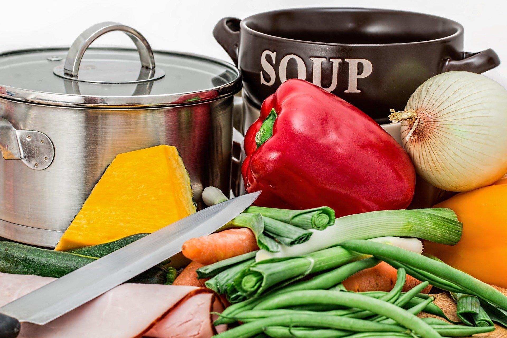 alimentos frescos y sanos